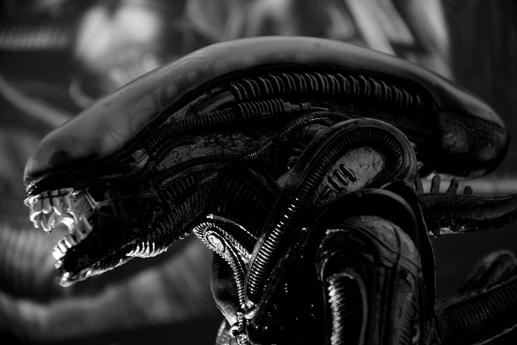 Alien, H.R. Giger by Artur Rydzewski, on Flickr