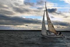 Sailing into the Sunset (Superlekker) Tags: sea sailing yacht north humphreys gbr hartlepool 4926 thyc mgc27