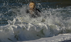 Blonde Moment (cetch1) Tags: beach water wave surfing surfboard beautifulgirl rodeobeach surfergirl waveporn northerncaliforniasurfing