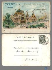 PARIS - PALAIS des Mines et de la Metallurgie (bDom) Tags: paris 1900 oldpostcard cartepostale bdom