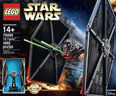LEGO Star Wars 75095 - UCS Tie Fighter (THE BRICK TIME Team) Tags: brick star fighter lego ultimate tie series wars collectors ucs