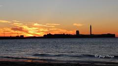 MARINE (jorgeop1995) Tags: light espaa sun beach atardecer mar sand waves playa cadiz ocaso caleta