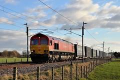 DB Schenker (UK)  intermodal (garstangpost.t21) Tags: db lancashire brock intermodal 66118 4s49