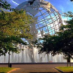 Sphere Photocapture @ Flushing Meadow Park Queens NYC (ALEXMTZPHOTOS) Tags: new york city highlights