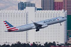 American Airlines Airbus A321 N126AN (jbp274) Tags: las airport airplanes american airbus americanairlines aa klas mccarran a321