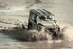 Landrover 110 (Pookz Off Road Photography) Tags: playing water fun mud offroad landrover