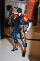 Revol Mini Cyborg Snake + Arm Cannon (Xomak) Tags: toys snake figure grayfox kaiyodo solidsnake metalgearsolid cyborgninja metalgearsolidthetwinsnakes frankjaeger revolmini