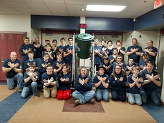 """FRCTeam2015_EagleSign • <a style=""""font-size:0.8em;"""" href=""""http://www.flickr.com/photos/127909168@N08/16571720632/"""" target=""""_blank"""">View on Flickr</a>"""