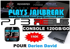 Derien David (play3jailbreak) Tags: david france slim relay dex commander play3 mondial jailbreak manette ps3 475 120gb achat envoi acheter derien rebug