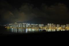 Over the harbor (Bowen Chin) Tags: longexposure night hong kong mmw fujifilm cuhk maonshan fujifilmx fujifilmxe2
