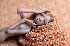 DSC_1991 (jullery) Tags: girls portrait girl beauty design beads doll bead bjd beadwork delica beadsofglass bjtales