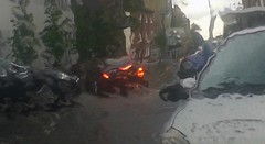 (Saw This) Tags: cars glass rain lights distorted brake windscreen wipers