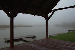harbor (maciej.zdun) Tags: morning mist fog river harbor poland rzeszw