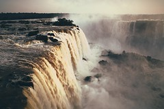 Morning falls (legalluce) Tags: morning brazil water river outside scenery outdoor filter waterfalls iguazu