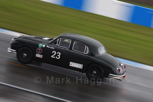 Jaguar Classic Challenge at the Donington Historic Festival 2016