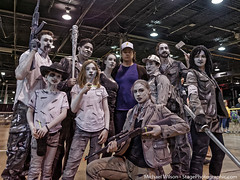 Drawn to Cosplay at Walker Stalker (Fix Brix) Tags: undead zombies walkers walkingdead walkerstalker joshmcdermitt eugeneporter drawntocosplay bwwalkingdead blackandwhitewalkingdead