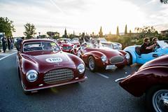 Mille Miglia 2014 - Traffic jam (Guillaume Tassart) Tags: italy sun race traffic rally automotive racing historic jam legend rallye motorsport mille miglia