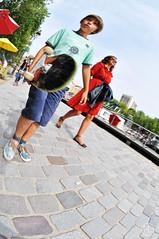 Skateboarding is not a crime (c'estlavie!) Tags: street people paris france colors skateboard quaideseine skateboardingisnotacrime