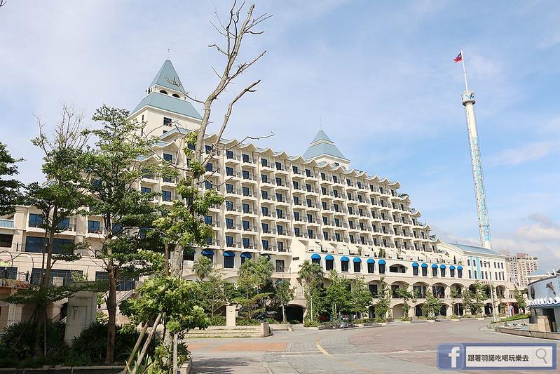 福容大飯店淡水漁人碼頭情人塔106