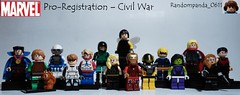 Pro-Registration – Civil War (Random_Panda) Tags: man america comics book war iron comic lego fig character books super civil civilwar captain hero figure superhero characters heroes minifig minifigs superheroes marvel figures mcu figs minifigure minifigures teamironman