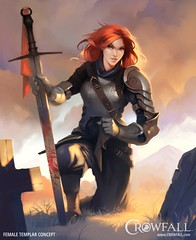 Templar, oath on mother's grave (JamesGoblin) Tags: crowfall mmo mmorpg pvp game gaming pc voxels vr virtual reality koster sandbox medieval fantasy gameofthrones eveonline eve illustration entertainment fun computers cyberculture online crowdfunding kickstarter games onlinegames videogames voxel proceduralgeneration procedural virtualreality computer rpg poster art multiplayer conceptart templar oath grave redhair redhead girl woman wallpaper wallpapers posters female females women girls hair hairstyle sword swords cross kneel blood bloody armor armored plate heavyarmor light morning evening sunrise sunset