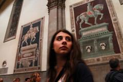 Equestrian Monument to Sir John Hawkwood (Chiara Grilli) Tags: portrait blur art girl florence paolo fresco uccello