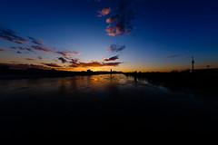 Photochallenge week 20: Landscape - Nightowl (Ing.LDA) Tags: wien austria sterreich sonnenuntergang wolken landschaft staat aut staaten week20 reichsbrcke 52weekchallenge wienerpforte fujixpro1