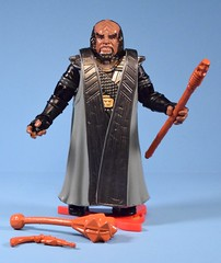 Klingon Warrior Worf (FranMoff) Tags: startrek alien actionfigures nextgeneration warrior klingon worf