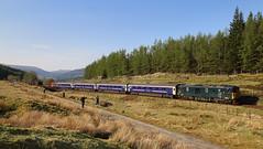 The West Highland Way ! (goremirebob) Tags: scotland trains railways westhighlandway westhighlandline caledoniansleeper class76