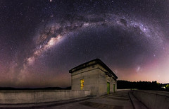 Milky Way over Canning Dam, Western Australia (inefekt69) Tags: longexposure nightphotography sky panorama mars cloud ice water night rural way stars nikon outdoor mosaic space large australia reservoir southern galaxy astrophotography microsoft planet astronomy dslr milky 11mm stitched cosmos westernaustralia core opposition cosmology milkyway southernhemisphere magellanic magellanicclouds canningdam greatrift d5100