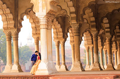 Coz I'm a Dreamer and you are the Dream. (Karteek Sivagouni) Tags: new wedding love couple im you fort delhi dream couples agra symmetric shooting weddings pillars dreamer coz karteek karteeksivagouni