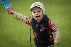 Wild Thing (dziurek) Tags: boy wild childhood kid nikon funny child hand thing lawn meadow d750 fx smail dziurek dziurman pdziurman