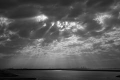Dramatic Skies over Abu Dhabi (dmjames58) Tags: leica sky blackandwhite bw uae abudhabi leicam240