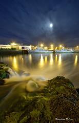 Concarneau (29) (Ronan Bzh) Tags: sea moon france night port landscape photography nikon nightscape sigma bretagne concarneau full 1020mm bateau paysage nocturne sud fil finistere d7100 qeascape