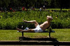 (gustavomorita) Tags: banco bronze cor corrida descanso gustavomorita ibirapuera parque parqueibirapuera selvasp semcamisa senhor sol sopaulo treino verde