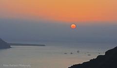 Sunset in Santorini (Nikos Roditakis) Tags: sunset nikon s nikos santorini 1855mm af nikkor vr firostefani d5200 roditakis