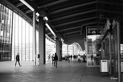 Random (Kym.) Tags: architecture bw building people random randomness walk walking thenetherlands urban invitation