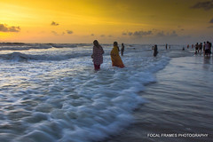 West Coast Sunset (focalframes) Tags: ocean india beach landscape photo photographer lonelyplanet westcoast mangalore arabiansea natgeo incredibleindia indianphotography indiancoast photographicsocietyofmadras focalframes