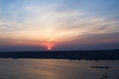 Palisades Sunrise (Lojones13) Tags: morning sky newyork water sunrise dawn outdoor hudsonriver serene refreshing
