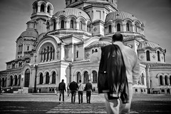 #Sofia #Bulgaria Shooting next to the Alexander Nevsky Cathedral ! #Leica #LeicaCamera (albericjouzeau) Tags: sofia bulgaria bulgarie city capital cathedral cathedrale building famous celebre sightseeing shooting leica leicacamera blackandwhite