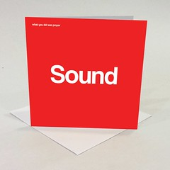 sound appreciation card (rethinkthingsltd) Tags: birthday christmas boss baby home kitchen up liverpool ma design tshirt parry livingroom made card sound mug greetings decor coaster cushion greeting madeup yerma yer scouser ilsa babygrow eeee laffin chocka jarg typograhic arlarse rethinkthings geggin gegginin