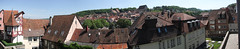 German rooftops panorama (quinet) Tags: panorama germany 2012 castleroad burgenstrase
