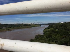 halfway out of Paraguay
