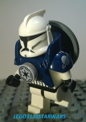LEGO SUPER REPUBLIC SOLDIER (CUSTOM MINIFIG) (lego3130starwars) Tags: soldier republic lego super minifig custom lego3130starwars
