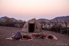 Morning Bedrolls 8489 (Ursula in Aus - Away) Tags: africa himba namibia otjomazeva bedrolls morning