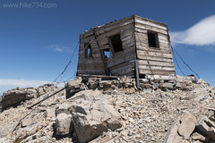 """Old fire lookout on Divide Mountain • <a style=""""font-size:0.8em;"""" href=""""http://www.flickr.com/photos/63501323@N07/27442891526/"""" target=""""_blank"""">View on Flickr</a>"""