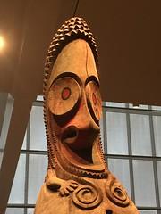 Top of a Slit Gong from Vanuatu (JFGryphon) Tags: themet vanuatu finial slitgong