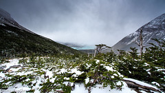 Trekking the French Valley, Torres del Paine, Chile (EmmaJG) Tags: chile patagonia snow mountains southamerica trek hike torresdelpaine tdp 2015 amricadelsur frenchvalley wtrek patagonia2015