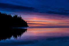 Sundog at Sunrise, Georgian Bay - 0044 (RG Rutkay) Tags: silhouette sunrise dawn outdoor georgianbay brucepeninsula sundog tobermory waterscape niagaraescarpment 2016 littlecove tdpc