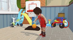 Jumpman (Sincerelyasimmer) Tags: michaeljordan jumpman jordans sims3